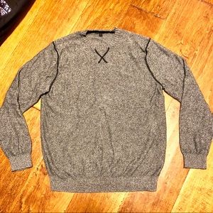 Banana Republic Men's sweater size large grey